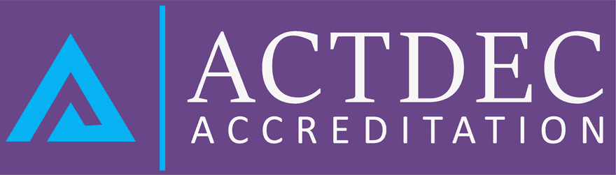 ACTDEC Acreditation Logo
